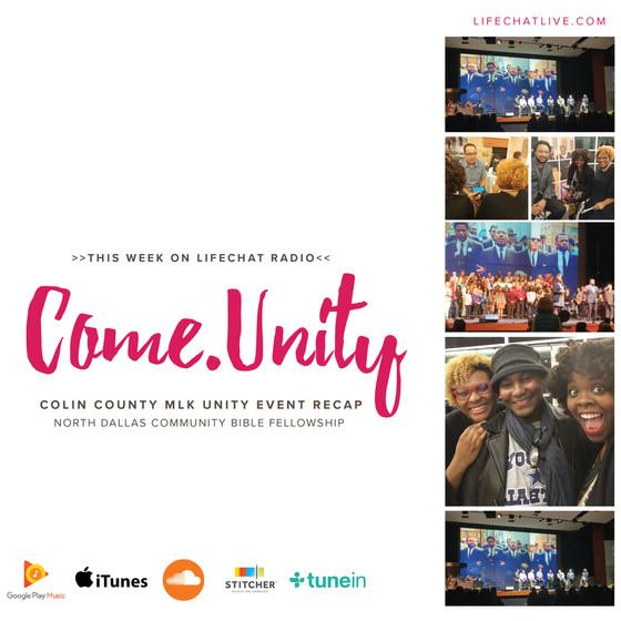 Come.Unity ft. Markus Lloyd + Antoine Malone