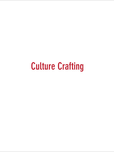 Culture Crafting