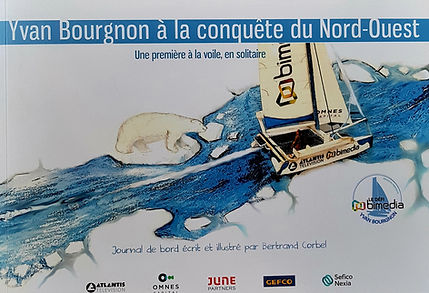 Livre passage Nord-Ouest Yvan Bourgnon.j