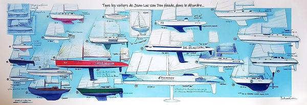 Affiche tous les voiliers de Jean-Luc Van Den Heede