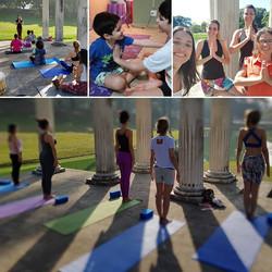 Yoga, Brasil e Quinta da Boa Vista_