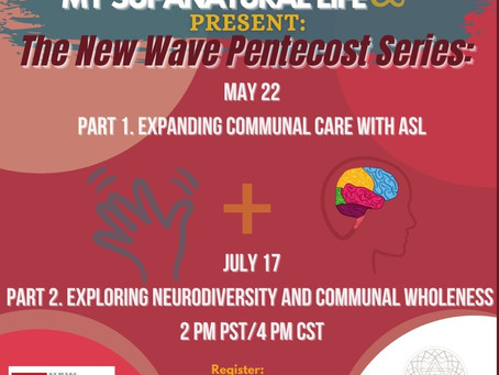 Join us for The New Wave Pentecost Series on May 22!