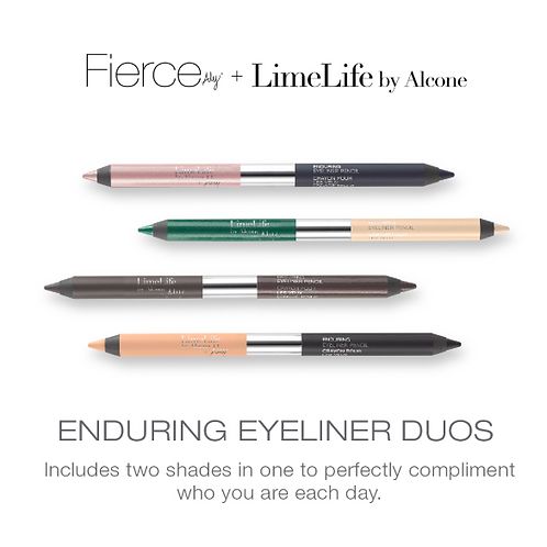 LL EYES - FIERCE BY ALY ENDURING EYELINER PENCIL DUO