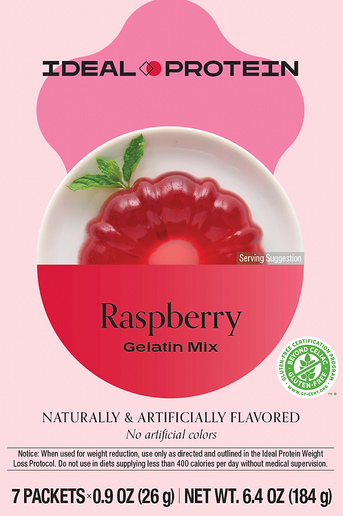 RASPBERRY GELATIN BOX/7