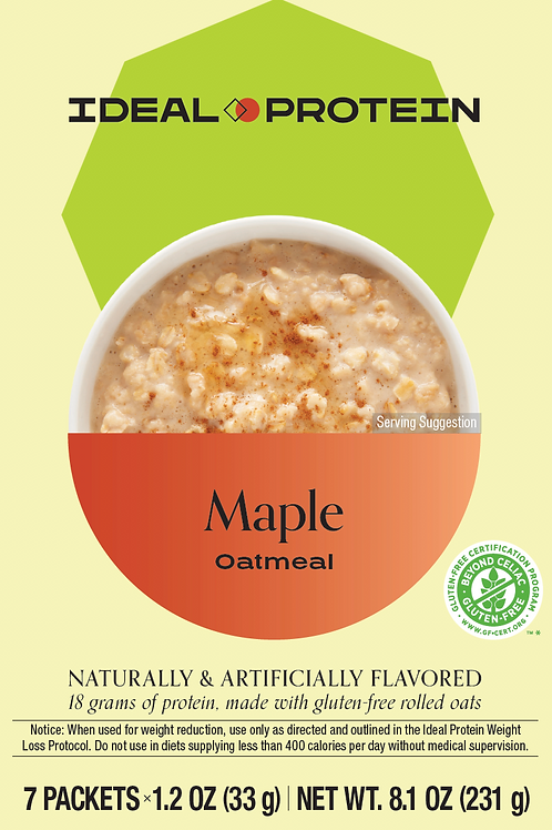 MAPLE OATMEAL BOX/7