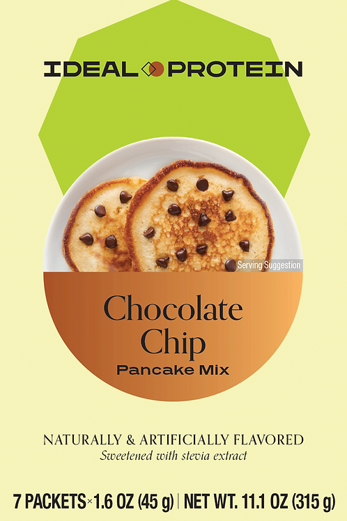 CHOCOLATE CHIP PANCAKE MIX BOX/7