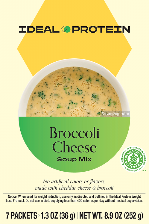 BROCCOLI CHEESE SOUP MIX BOX/7