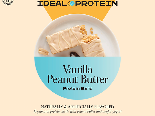 VANILLA PEANUT BARS BOX/7