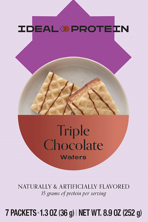 TRIPLE CHOCOLATE WAFERS BOX/7