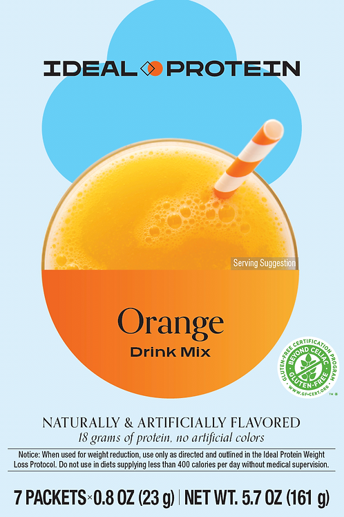 ORANGE DRINK MIX BOX/7