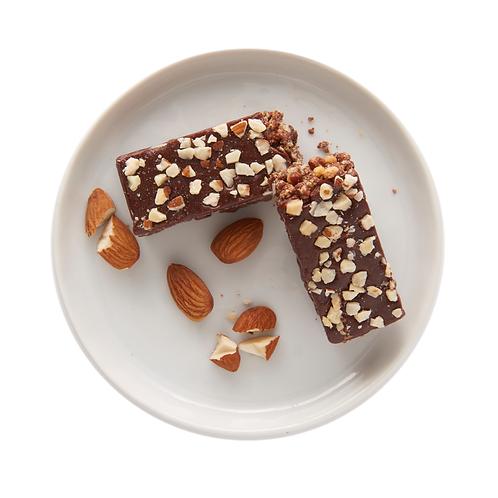 CHOCOLATE ALMOND BARS SINGLE 1EA