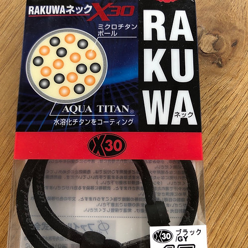 Phiten Rakuwa x30 titanium necklace for relaxation and pain relief