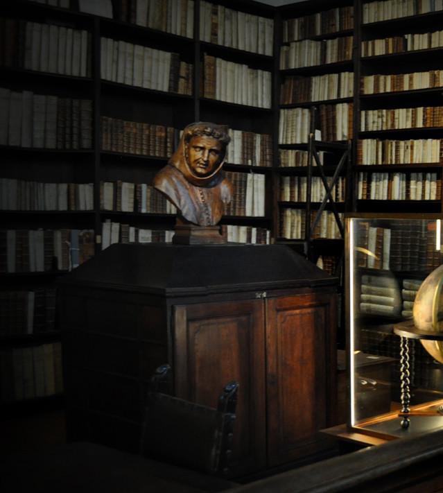Biblioteka w kompleksie muzeum