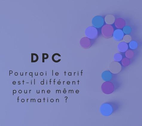 Certaines modalités (prise en charge par l'employeur, dossier DPC) demandent un travail administratif conséquent, un forfait administratif s'applique donc pour ces conventions.
