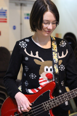 Rudolph and her xmas jumper