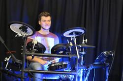 Guest drummer fills in