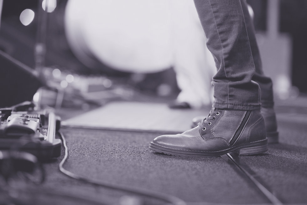 A Boot on Stage