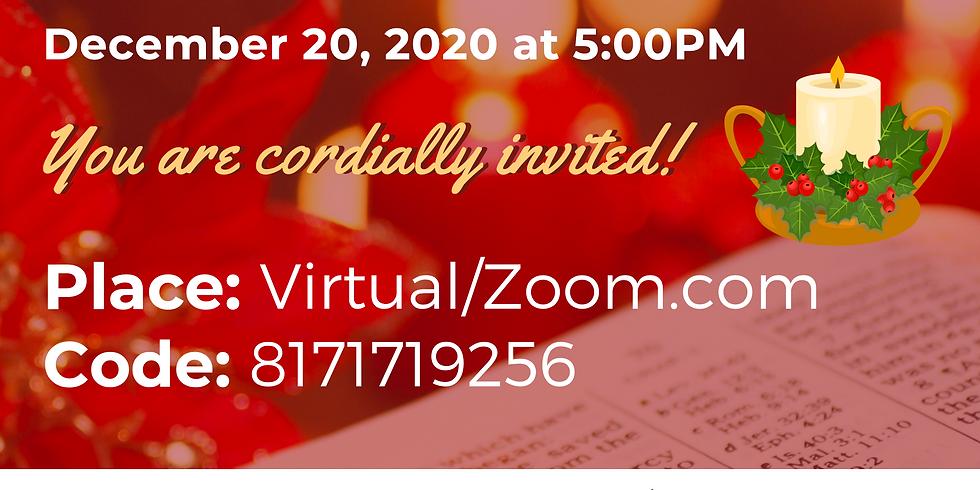 Virtual Candlelight Service