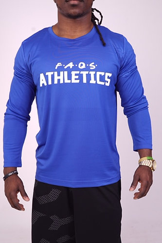 Faqs Athletics Long Sleeve T-Shirt