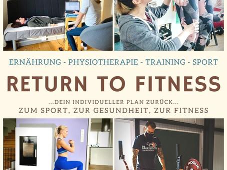 """Return to Fitness"" - Programm"