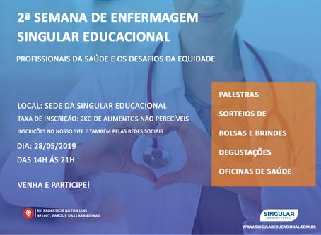 2ª Semana de Enfermagem Educacional