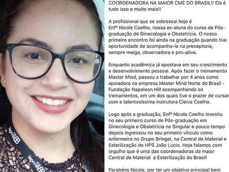 COORDENADORA NA MAIOR CME DO BRASIL!!