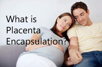 Couple considering placenta encapsulation