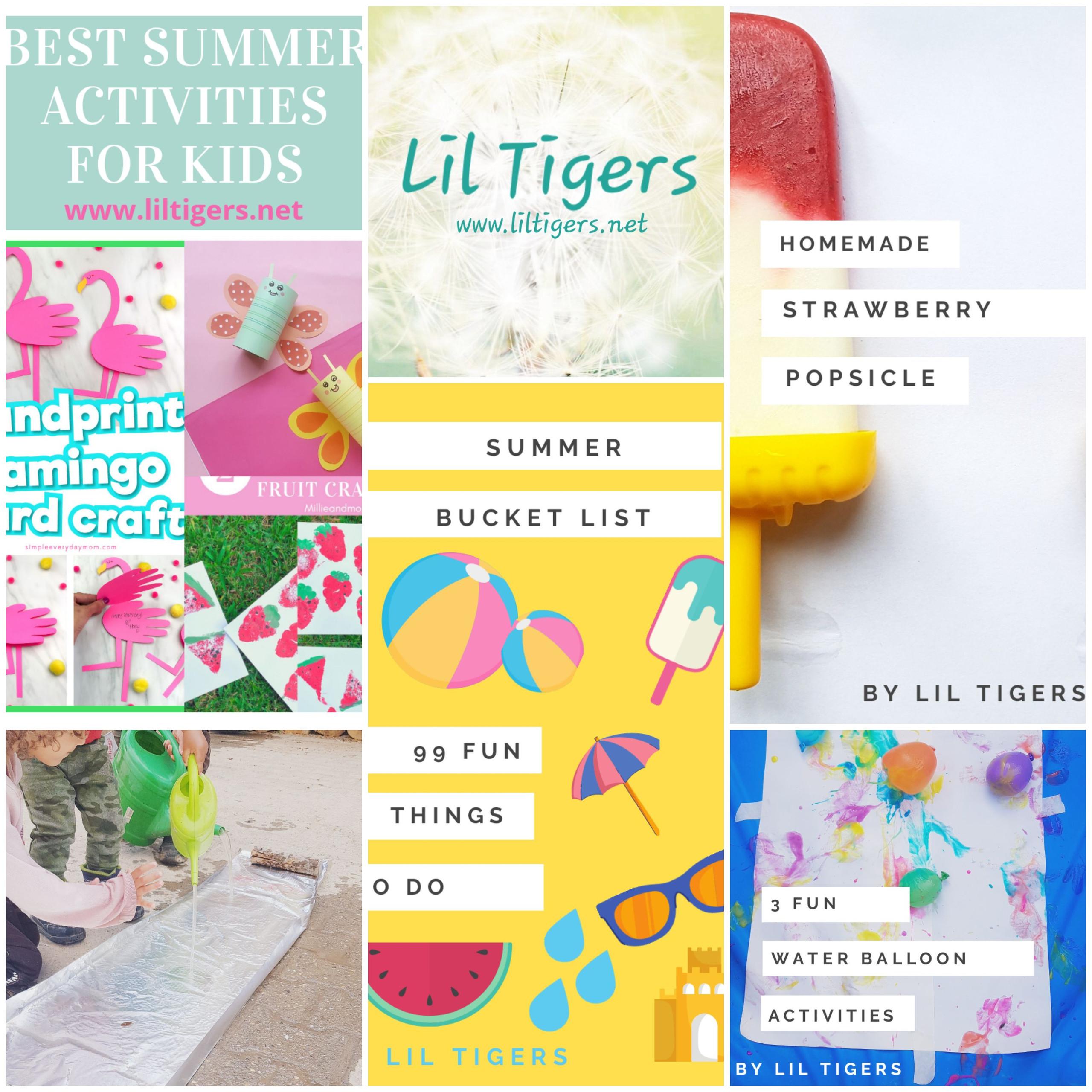 Summer Activities for little Tigers