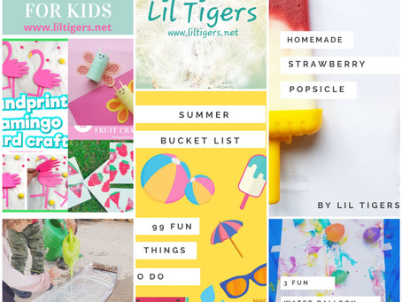 Summer Activities for Lil Tigers