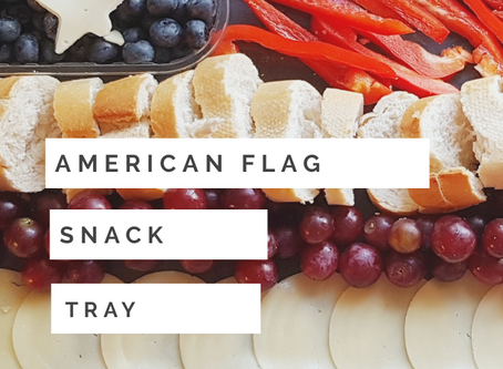 American Flag Snack Tray Recipe