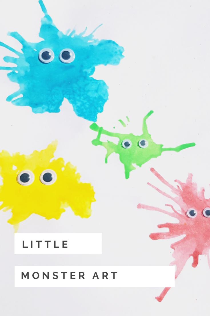Monster Art for Kids
