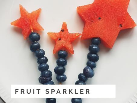 Easy Treat Fruit Sparkler Recipe