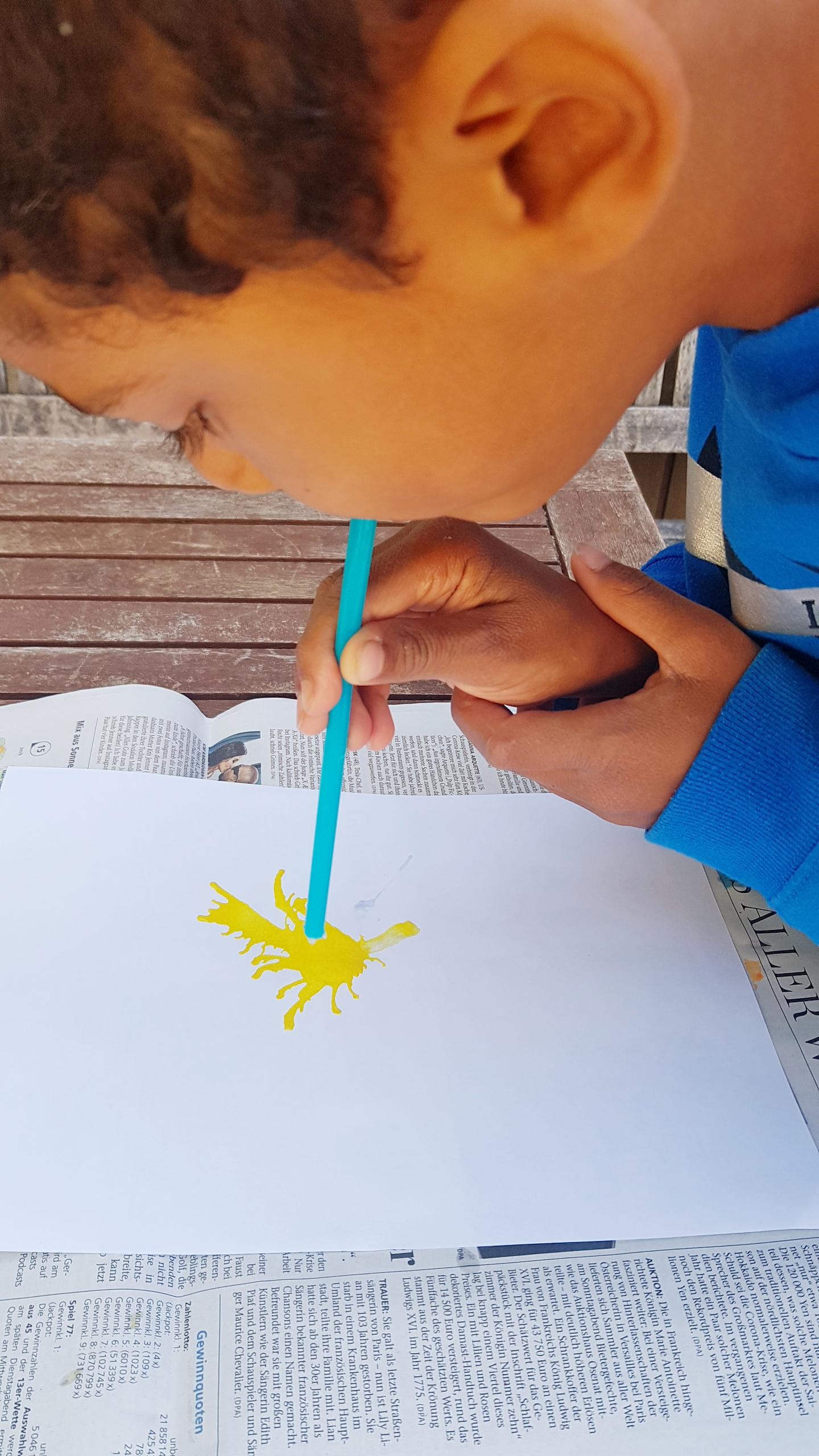 Tutorial Monster Art for Kids