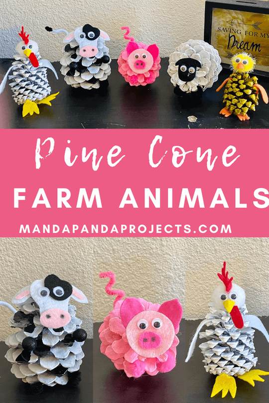 Pine Cone Farm Animals