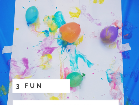 3 FUN WATER BALLOON ACTIVITIES