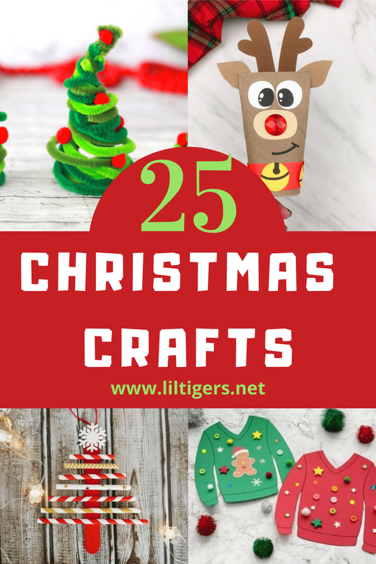 25+ Easy Christmas Crafts for Preschooler and big Kids