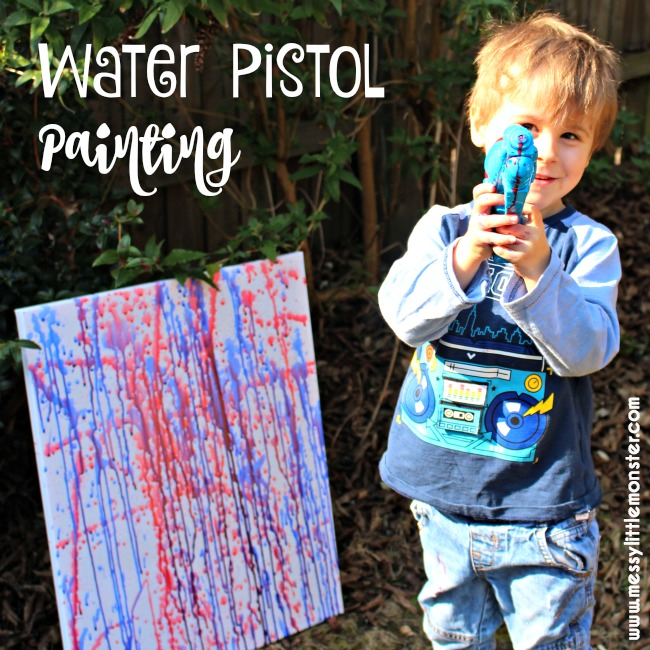 Water pistol paint