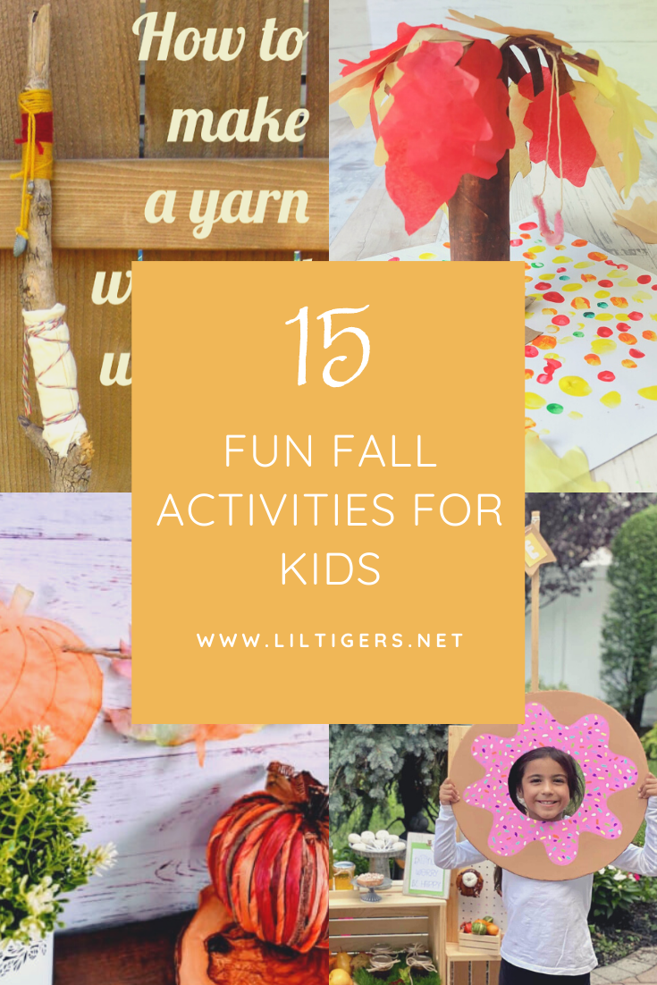 15 Fun Fall Activities for Kids