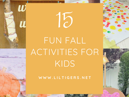 15 Fun Fall Activities for Kids