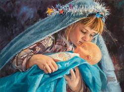Loving Baby Jesus