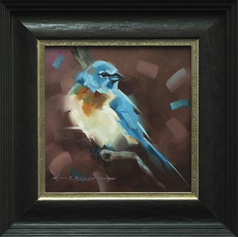Lazuli Bunting III
