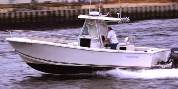 Fishing Charter NJ Regulator Boat