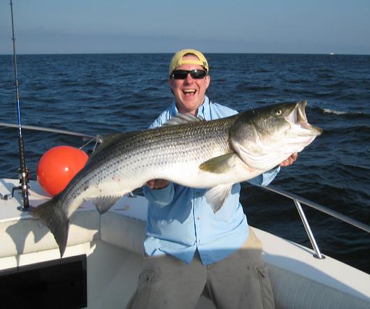 Fishing Charter NJ Striped Bass Charter