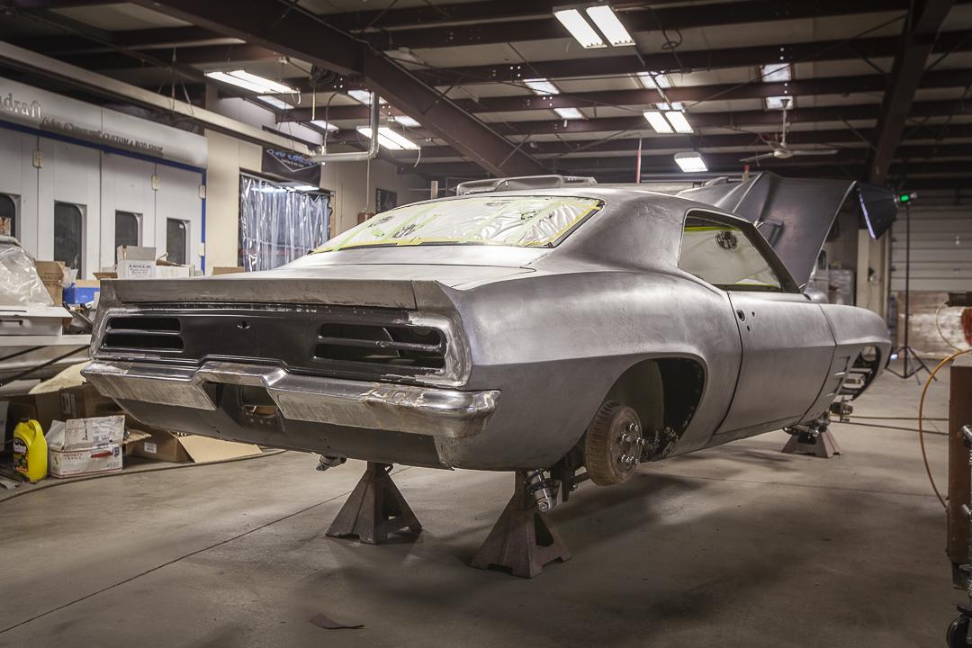69 pontiac firebird frame off