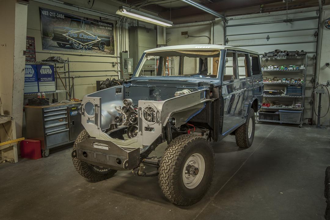 Toyota FJ Restoration