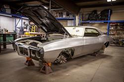 Custom 1969 Firebird restoration