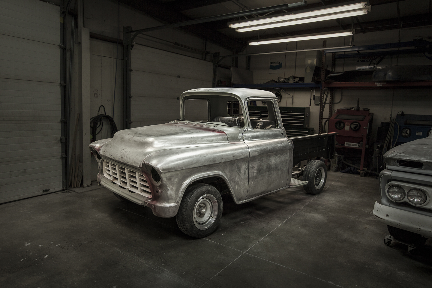 Custom restoration 1955 Chevy Pickup