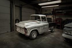 Custom restoration 1955 Chevy Pickup