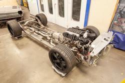 Roadster shop frame LS engine