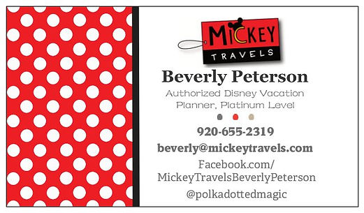 MickeyTravels Business Logo - Beverly Pe